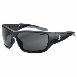 Ergodyne 57430 BALDR Smoke Lens Matte Black Safety Glasses