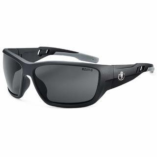Ergodyne 57433 BALDR Anti-Fog Smoke Lens Matte Black Safety Glasses