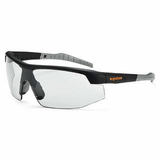 Ergodyne 59080 SKOLL In/Outdoor Lens Matte Black Safety Glasses