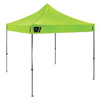 Ergodyne 6000 6000 Single Lime 10 x 10 Heavy-Duty Commercial Pop-Up Tent