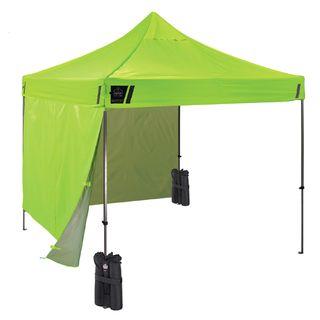 Ergodyne 6051 6051 Single Lime Pop-Up Tent Kit