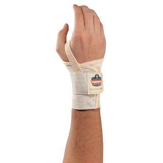 Ergodyne 70116 4000 L-Left Tan Single Strap Wrist Support