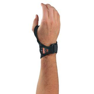 Ergodyne 70206 4020 L/XL-Right Black Lightweight Wrist Support