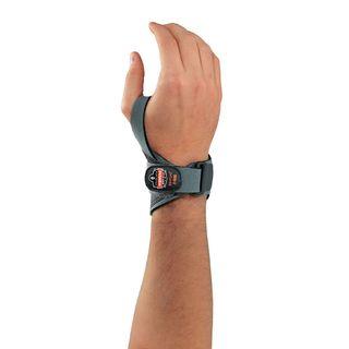 Ergodyne 70286 4020 L/XL-Left Gray Lightweight Wrist Support