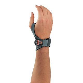 Ergodyne 70296 4020 L/XL-Right Gray Lightweight Wrist Support