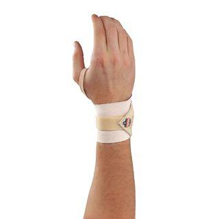 Ergodyne 72232 420 S/M Tan Wrist Wrap w/Thumb Loop
