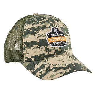 Ergodyne 90101 SNAP-CAP  Olive Master Brand Snapback Hat with Mesh Back