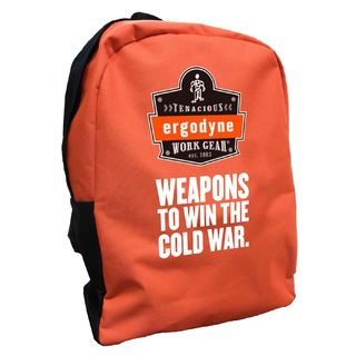 Ergodyne 90243-CW BPAK-BP  Cold War Orange Backpack