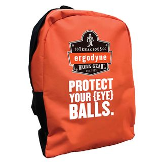 Ergodyne 90243-EB BPAK-BP  Eye Balls Orange Backpack