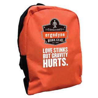 Ergodyne 90243-GH BPAK-BP  Gravity Hurts Orange Backpack