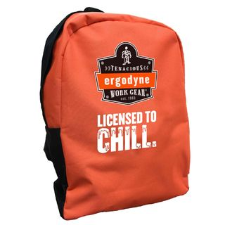 Ergodyne 90243-LC BPAK-BP  License to Chill Orange Backpack