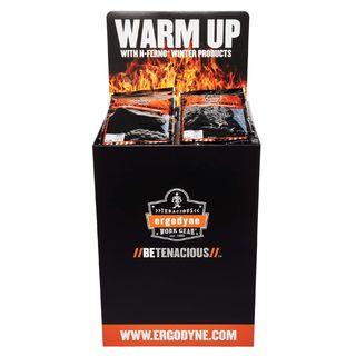 Ergodyne 99912 DUMPKIT  Warm Up Corrugated Dump Bin Display