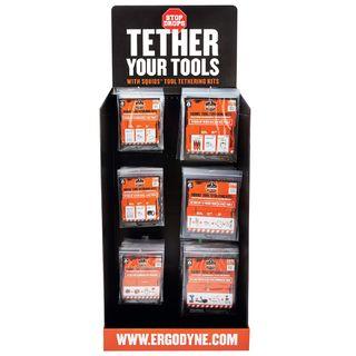 Ergodyne 99919 HUTCHKIT  Tool Tether Corrugated Hutch Display