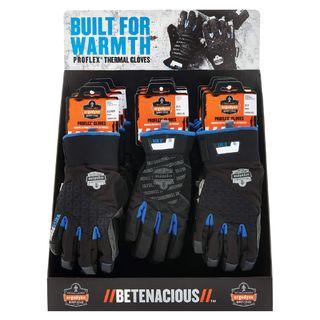 Ergodyne 99927 CTPLGKIT  Thermal Gloves Large Corrugated Countertop Display
