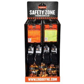 Ergodyne 99941 HUTCHKIT  Safety Zone Corrugated Hutch Display