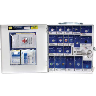 First Aid Only Metal Cabinet, First Aid Only™ 746000 Large SmartCompliance Metal, ANSI Complia