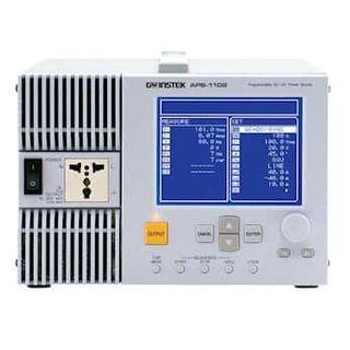 GW Instek APS-1102A 1 kVA Programmable AC/DC Power Source