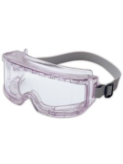 Uvex® Futura® Wrap-Around Safety Goggles, Clear/Clear