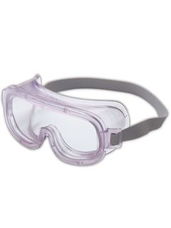 Uvex Classic Safety Goggles, Clear/Gray