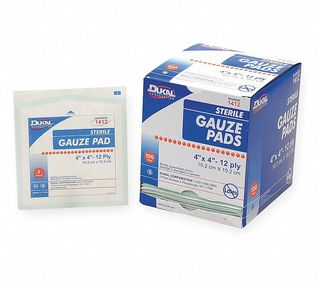 "Honeywell Safety 67644 (100/BX) GZE PADS STERILE 4""""X4"""" 100'S"
