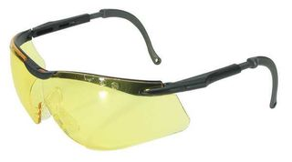 Honeywell Safety T56555BA 'N-Vision'' safety glasses, black & grey frame, amber l