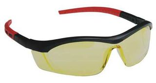 Honeywell Safety T58505BA 'Tornado F5'' safety glasses, black & red frame, straig