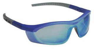 Honeywell Safety T58505BLBLM 'Tornado F5'' safety glasses, blue & gray frame, str