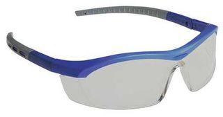 Honeywell Safety T58505BL 'Tornado F5'' safety glasses, blue & gray frame, straig