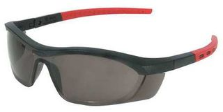 Honeywell Safety T58505BS 'Tornado F5'' safety glasses, black & red frame, straig