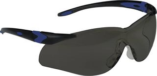 Honeywell Safety T65505BS 'Lightning Plus'' Safety glasses, black frame - smoke lens