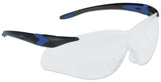 Honeywell Safety T65505B 'Lightning Plus'' Safety glasses, black frame - clear lens -