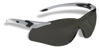 Honeywell Safety T65505SS 'Lightning Plus'' Safety glasses, silver frame - smoke lens