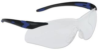 Honeywell Safety T65515BTCG 'Lightning Plus'' Safety glasses, black frame - indoor an