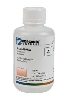 Inorganic Ventures MSAL-10PPM-125ML 10 ug/mL Aluminum Standard