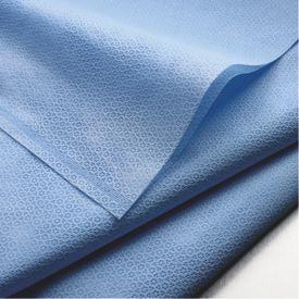 Kimberly-Clark 12748 KC100 Kimguard One-Step* Sterilization Wrap, Blue, 24EA/BG, 5BG/CS, 48in x 48in