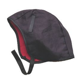 Kimberly-Clark 14500 200 Winterliner, Under hat,  twill outer shell with poly-fleece lining, Black,