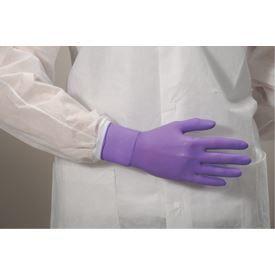 Purple Nitrile* Exam Gloves, Latex-free, 6mil, 100/BX, 10BX/CS, XL
