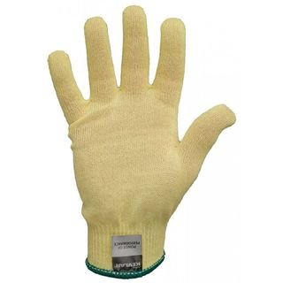 Lakeland 2200L 100% Kevlar knit cut glove, 13 gauge, Cut Level 2, Yellow, LG