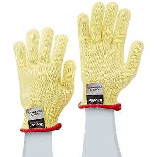 Lakeland 2300M 100% Kevlar Terry Seamless knit glove, ANSI Cut Level 3, Yellow, MD