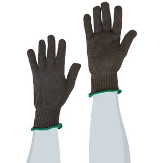 Lakeland 6100R 100% Thermbar knit glove, Heat Resistant, 10in, Black
