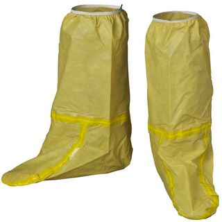 Lakeland C70740 ChemMax 1 Boot covers, Taped Seam, Yellow,