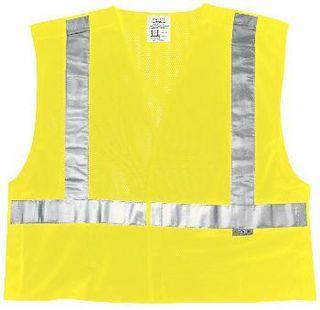 MCR Safety CL2MLX2 SAFETY VEST FLOURO LIME 2X