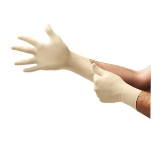 Microflex L93 A+ Aloe® PF Latex Exam Glove Large