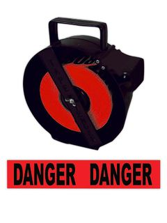 "NAT.MARKER CU-74392 ""DANGER"" WITH DISPENSER BOX"