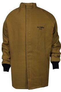 National Safety Apparel C04KDQE03LG32 100 cal ArcGuard Nomex/Kevlar Arc Flash Coat (LG)