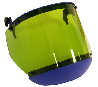 National Safety Apparel H20XX20CALCAFS 10 cal Arc Flash Faceshield with Slotted Adapter