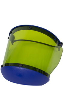 National Safety Apparel H20XX20CALCAFUB 10 cal Arc Flash Faceshield with Full Brim Adapter