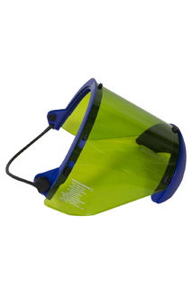National Safety Apparel H50XX12CALCAFUB 10 cal Arc Flash Faceshield with Full Brim Adapter