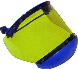 National Safety Apparel H50XX12CALCAF 10 cal Arc Flash Faceshield with Universal Adapter