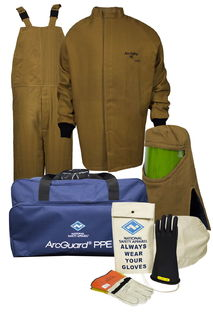 National Safety Apparel KIT4SC1003X10 100 cal ArcGuard Arc Flash Kit (3X/10)